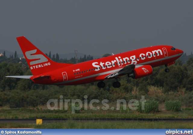 D-AHIE, Boeing 737-700, Sterling Airlines