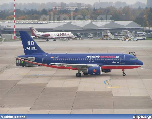 D-AHIK, Airbus A319-100, Hamburg International