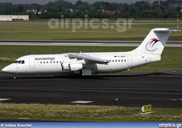 D-AHOI, British Aerospace BAe 146-300, Eurowings