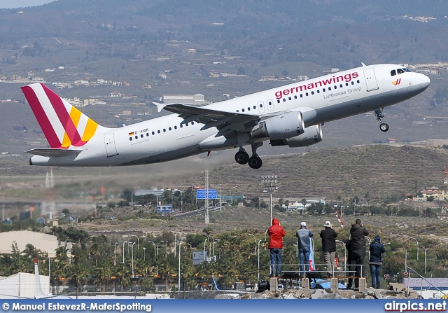 D-AIQK, Airbus A320-200, Germanwings