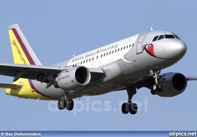 D-AKNM, Airbus A319-100, Germanwings