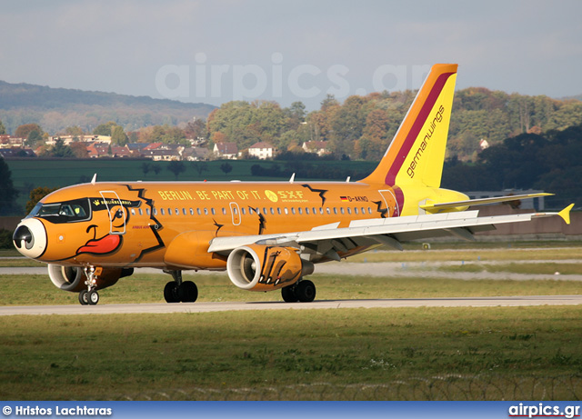 D-AKNO, Airbus A319-100, Germanwings