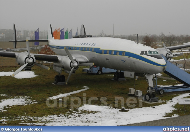 D-ALEM, Lockheed Super Constellation L1049G, Lufthansa