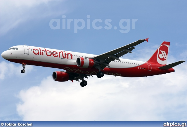 D-ALSB, Airbus A321-200, Air Berlin