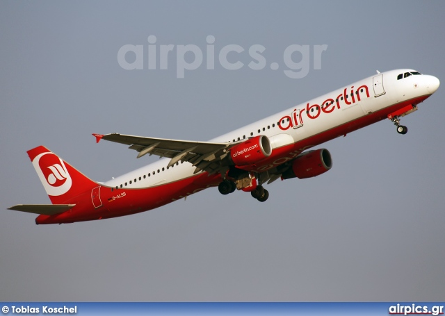 D-ALSD, Airbus A321-200, Air Berlin