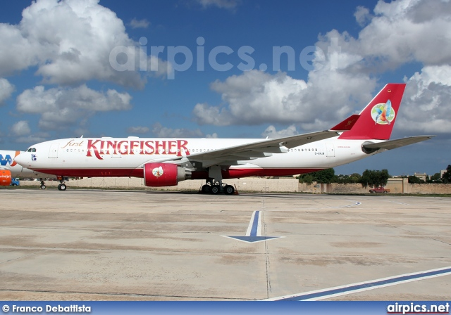 D-ANJB, Airbus A330-200, Kingfisher Airlines