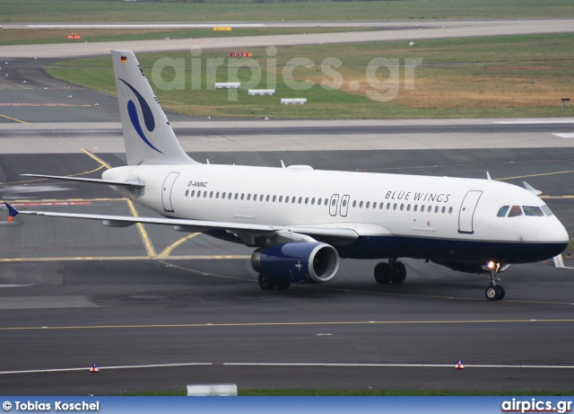 D-ANNC, Airbus A320-200, Blue Wings