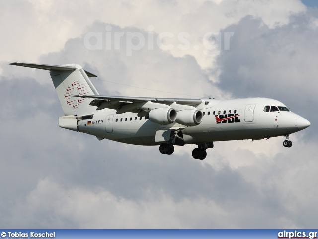 D-AWUE, British Aerospace BAe 146-200, WDL Aviation