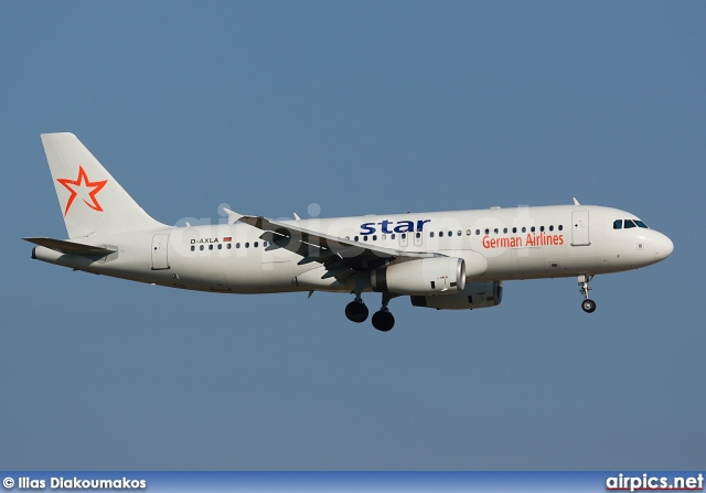 D-AXLA, Airbus A320-200, Star German Airlines