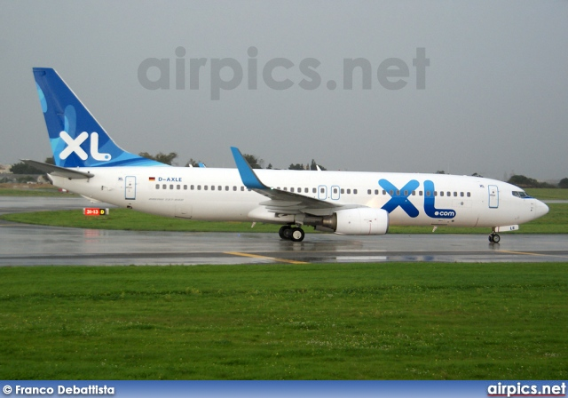 D-AXLE, Boeing 737-800, XL Airways Germany