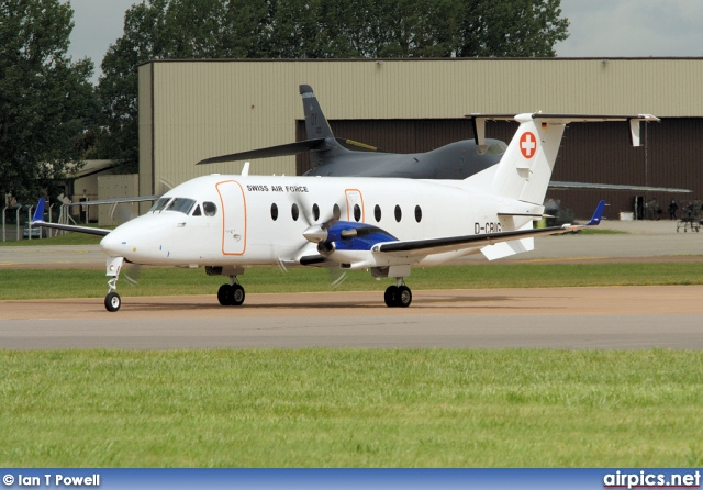 D-CBIG, Beechcraft 1900-D, Swiss Air Force
