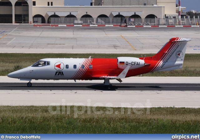 D-CFAI, Gates Learjet 55, Flight Ambulance International