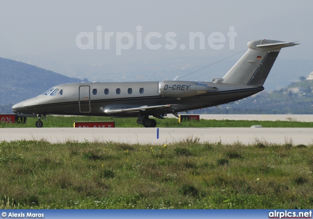 D-CREY, Cessna 650 Citation III, Triple Alpha Jet Charter