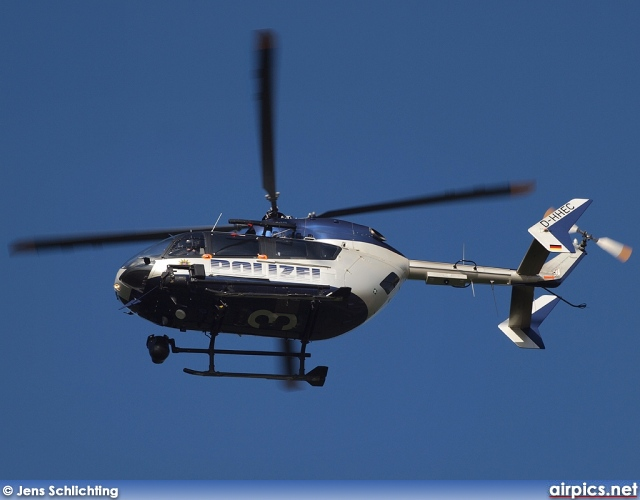 D-HHEC, Eurocopter-Kawasaki BK 117 C-2, German Police Force