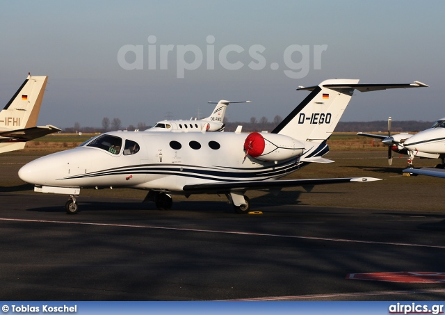 D-IEGO, Cessna 510 Citation Mustang, Triple Alpha Jet Charter