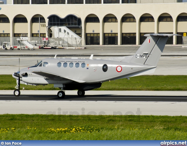 D-IMPB, Beechcraft B200 King Air, Malta Air Force