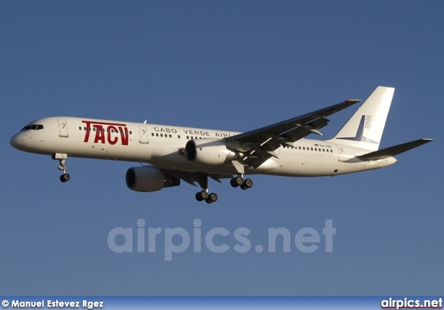 D4-CBG, Boeing 757-200, TACV Cabo Verde Airlines