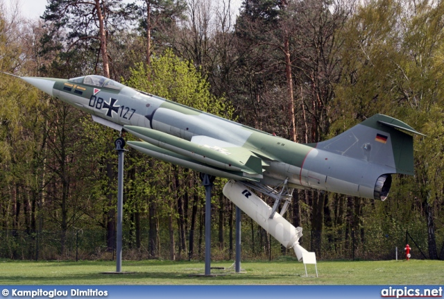 DB-127, Lockheed F-104G Starfighter, German Air Force - Luftwaffe