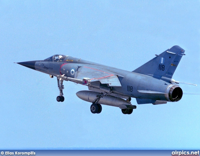 Dassault Mirage F.1CG, Hellenic Air Force