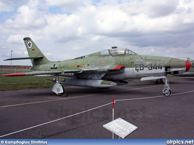 EB-344, Republic RF-84F Thunderflash, German Air Force - Luftwaffe