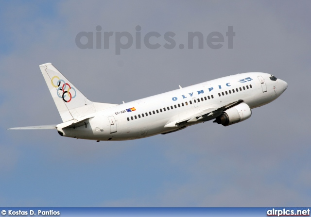 EC-JQX, Boeing 737-300, Olympic Airlines