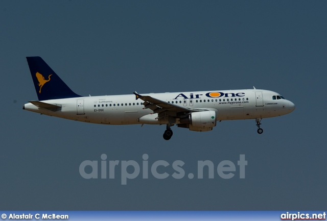 EI-DSC, Airbus A320-200, Air One
