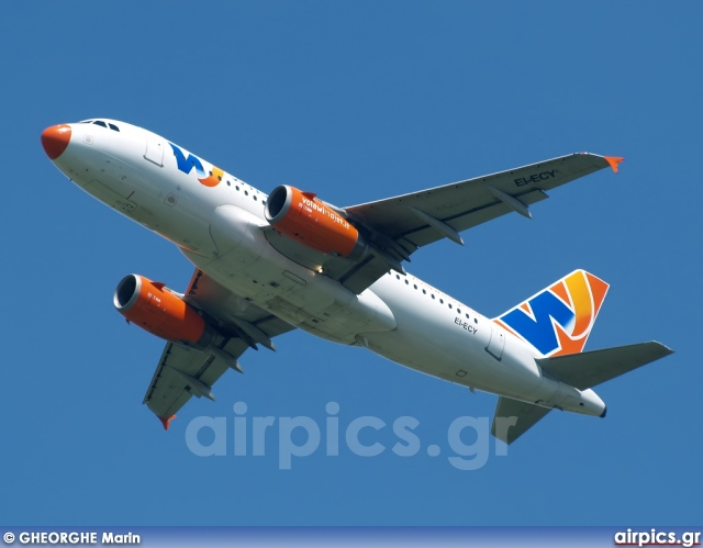 EI-ECY, Airbus A319-100, Wind Jet