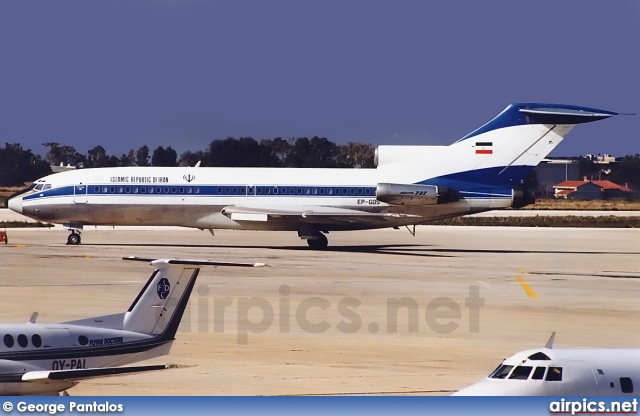 EP-GDS, Boeing 727-100, Islamic Republic of Iran