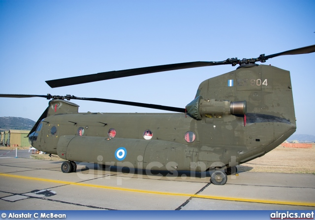 ES904, Boeing CH-47D Chinook, Hellenic Army Aviation