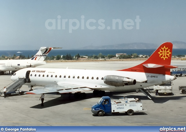 F-BMKS, Sud Aviation SE-210-Caravelle 10B, Air Toulouse International