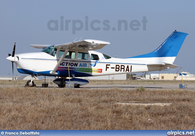 F-BRAI, Cessna 206C Super Skywagon, Private