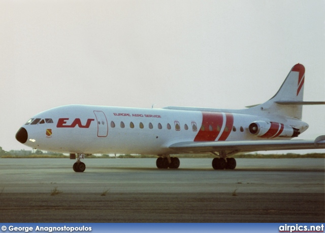F-BYCA, Sud Aviation SE-210-Caravelle 6N, Europe Aero Service (EAS)