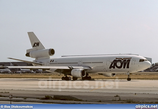 F-GHOI, McDonnell Douglas DC-10-30, AOM French Airlines