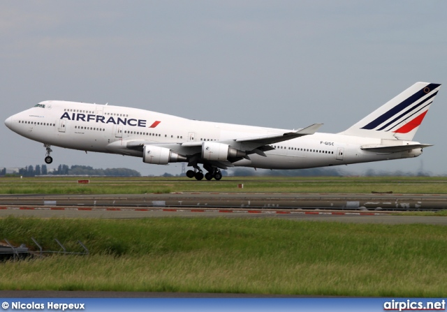 F-GISC, Boeing 747-400M, Air France