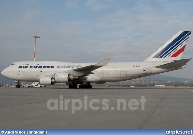 F-GISE, Boeing 747-400(BCF), Air France