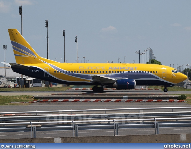 F-GIXI, Boeing 737-300F, Europe Airpost