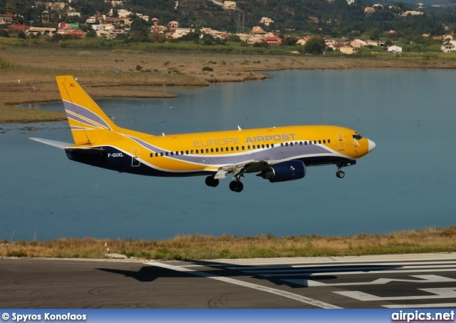F-GIXL, Boeing 737-300(QC), Europe Airpost