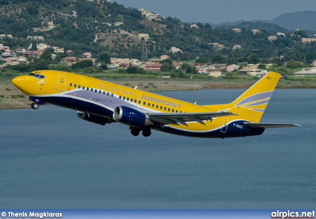 F-GIXO, Boeing 737-300(QC), Europe Airpost