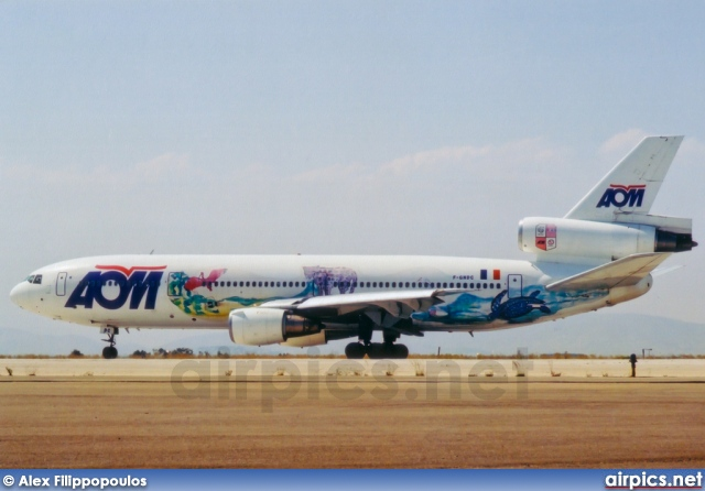 F-GNDC, McDonnell Douglas DC-10-30, AOM French Airlines