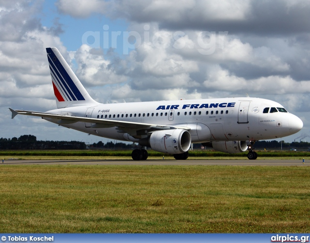 F-GUGG, Airbus A318-100, Air France