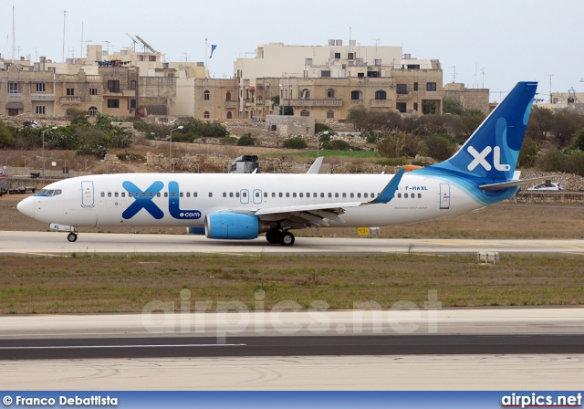F-HAXL, Boeing 737-800, XL Airways France