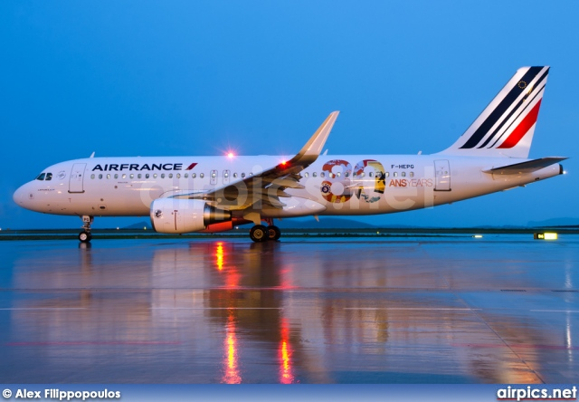 F-HEPG, Airbus A320-200, Air France