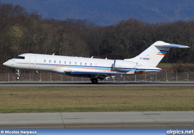 F-HFBY, Bombardier Global 5000, Bouygues Transport Air Services