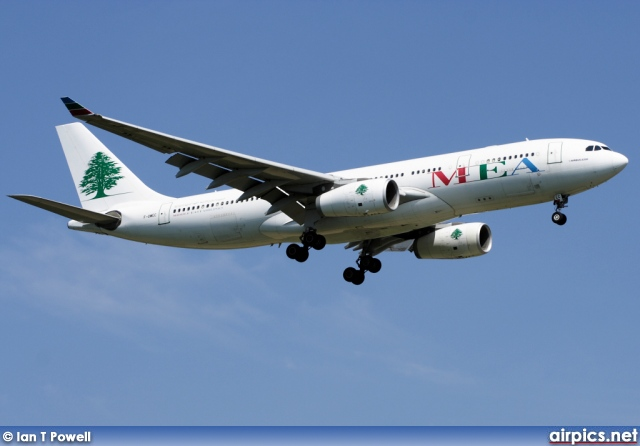 F-OMEC, Airbus A330-200, Middle East Airlines (MEA)