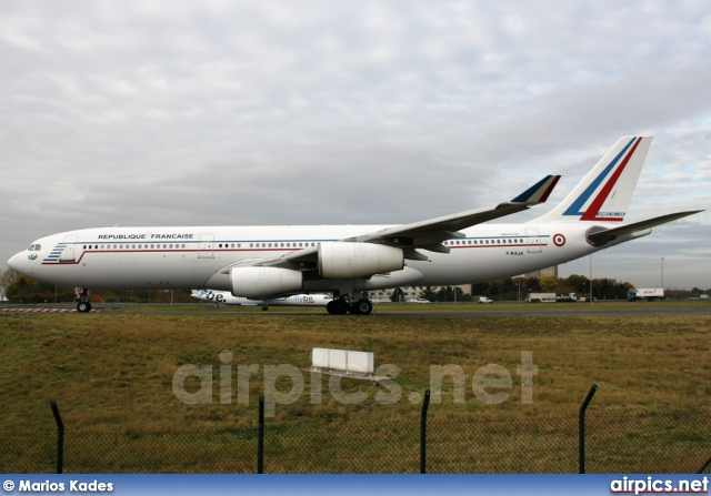 F-RAJA, Airbus A340-200, French Air Force