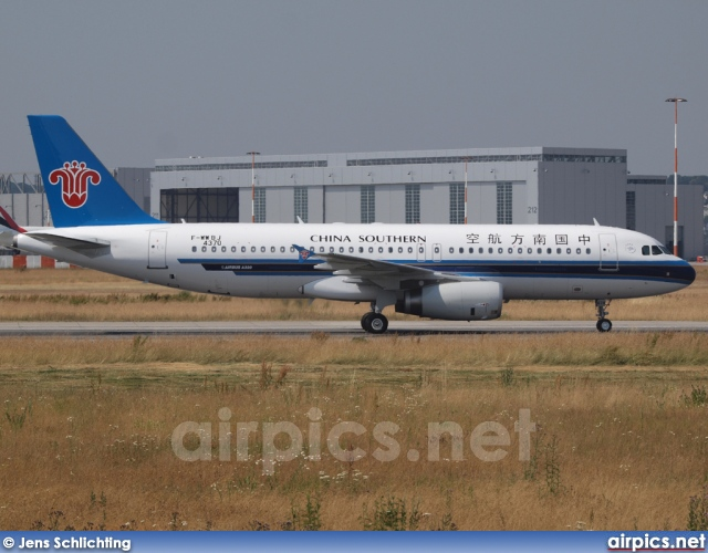 F-WWBJ, Airbus A320-200, China Southern Airlines
