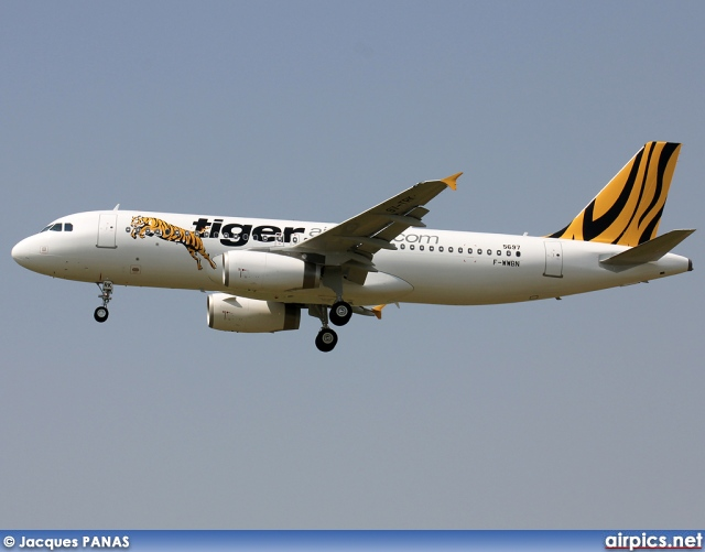 F-WWBN, Airbus A320-200, Tiger Airways