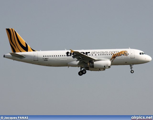 F-WWBT, Airbus A320-200, Tiger Airways