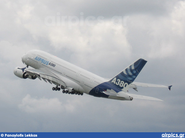F-WWEA, Airbus A380-800, Airbus Industrie