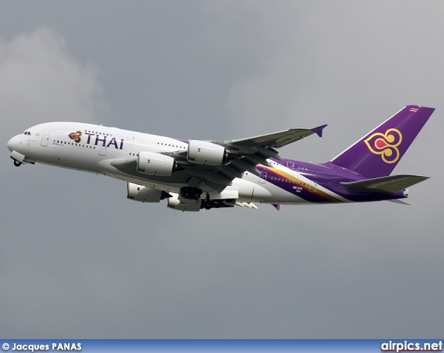 F-WWSE, Airbus A380-800, Thai Airways